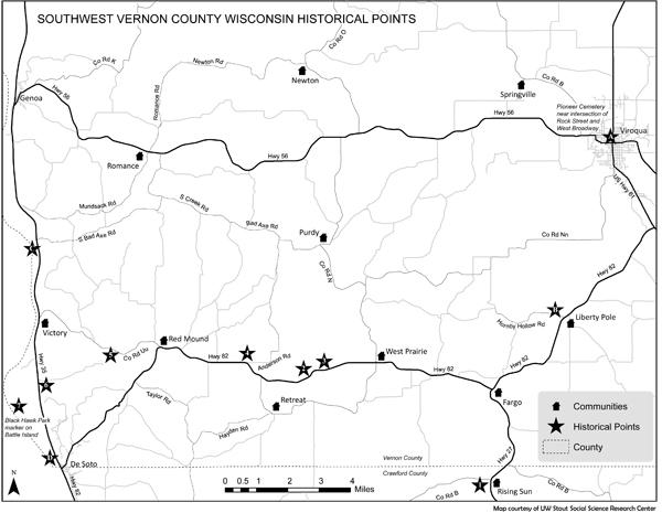 Vernon County History